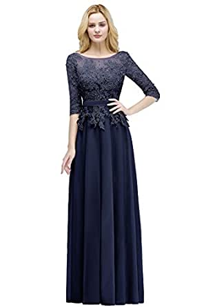 Für Abschlusskleider Hochzeit Elegant Abendkleid Misshow Lang 34 0ONP8nwkX