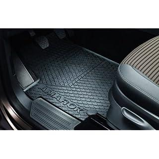 VW Amarok Gummi Fußmatten Original Volkswagen Allwettermatten vorn 2H1061502 82V