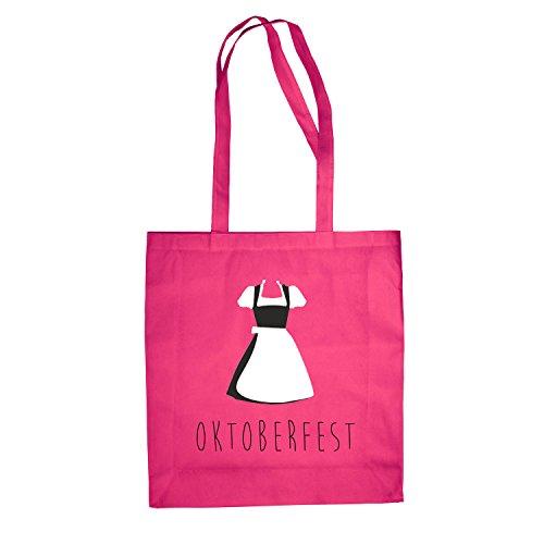Shopping Wiesn Bag Fan Jutebeutel Dirndl Oktoberfest Pink München Baumwolltasche Tasche 0fOZxwq