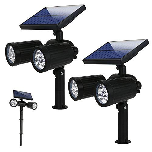 Lampade Solari a led da Esterno 300 LM,Illuminazione Wireless Giardino...