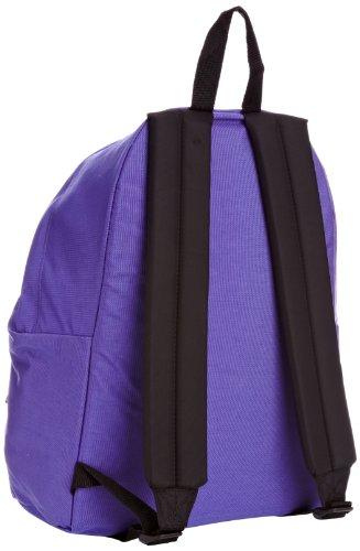 Eastpak Padded Pakr Polyamide,Polyester Blue,Brown,Grey,Red backpack - Backpacks (Polyamide, Polyester, Blue, Brown, Grey, Red, Monotone, 35.6 cm (14), Front pocket, Zipper) Viola (Beasty Beatle)