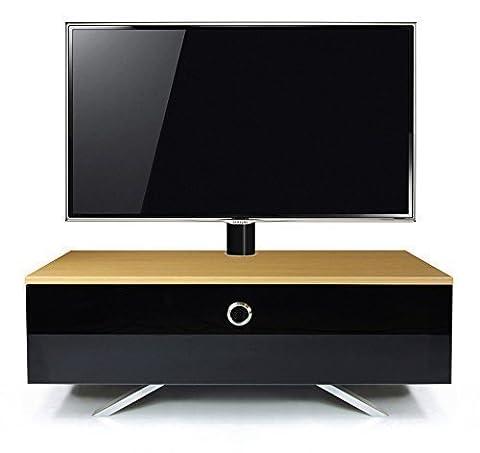 MDA Designs - Meuble TV cubique hybride complet en chêne