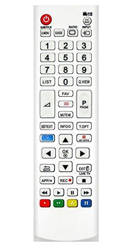 Ersatz Fernbedienung for LG LCD LED 3D TV 47LB671V 47LB674V 47LB675V 47LB676V 47LB678V 47LB679V