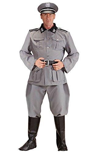 Widmann 3213D Erwachsenenkostüm Deutscher Soldat, XL