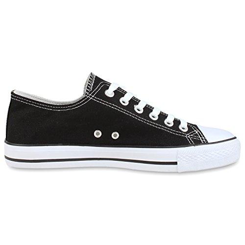 Warm Gefütterte Damen Sneakers Low Schnallen Zierknöpfe Schuhe Jennika Grau