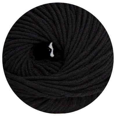 Collection-schal Aus Seide (100 g Wolle ONLine Linie 55 Montego, Fb. 10 schwarz)