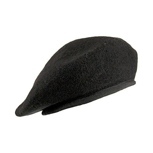 Village Hats Béret Militaire Noir - 59