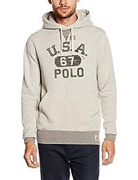 Polo Ralph Lauren Ls Po Hood M3, Sweat-Shirt àCapuche Homme
