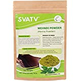 SVATV :: 100% Natural Organically Cultivated Henna Powder Specially for Hair - Triple Sifted Henna Powder - Lawsonia Inermis