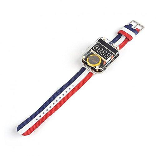 41LJgtL1d6L - Kit para hacer tu propio reloj de SainSmart