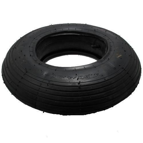 Preisvergleich Produktbild Reifen- und Schlauch-Set für Karre/Schubkarre TR13 4.80/4.00-8 (400x100)