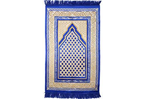 Gebetsteppich | Navyblau | 67 x 115 cm | traditionell | schlicht