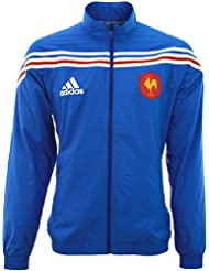 Veste XV DE France - Collection officielle Adidas - Rugby Equipe de France - Taille adulte Homme