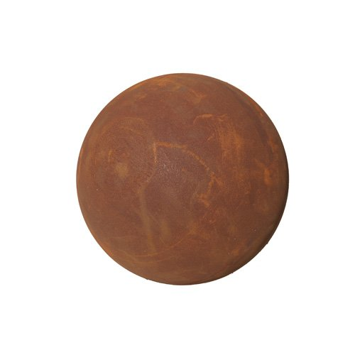 Boule en acier rouille 50 cm entièrement Boule edelro stdeko