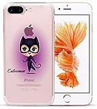 Art-design Coque iPhone 7+ Plus et iPhone 8+ Plus Catwoman Batman Marvel Super Hero...