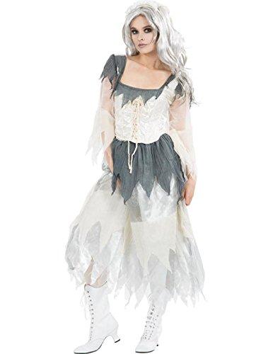 Ladies miss havisham halloween bride fancy dress book week costume medium