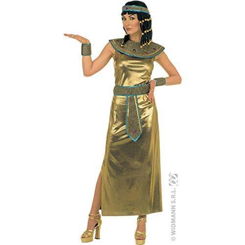 Widmann 35171 - Erwachsenenkostüm Kleopatra Kleid, Größe (Erwachsene Kostüme Caesar Perücke)