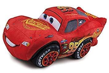 familie24 XXXL Cars Plüschtier 40cm Stofftier Lightning McQueen Hook Kuscheltier Stofftier Plüsch Mater (Lightning McQueen)