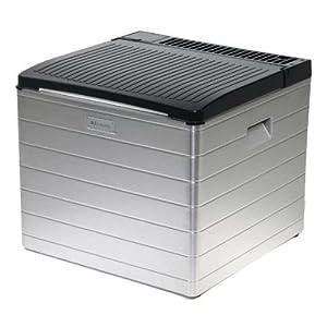 DOMETIC CombiCool RC 2200 EGP - lautlose, elektrische Absorber-Kühlbox aus Aluminium mit Gas-Anschluss 30 mbar, 40 Liter, 12 V und 230 V für Auto, Lkw und Steckdose