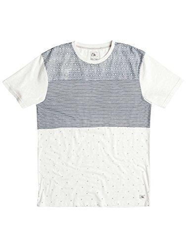 Quiksilver Astle Herren-T-Shirt Snow White