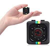 Safety Net SQ11 1080P Full HD Hidden Smallest Mini Spy Camera | Night Vision Hidden Cam | 1920 x 1080p | Full HD Audio…