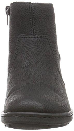 Rieker - 72362, Stivaletti Donna Nero (Schwarz (schwarz/granit / 01))