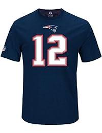 Majestic NFL TOM BRADY #12 - NEW ENGLAND PATRIOTS Player T-Shirt, Größe
