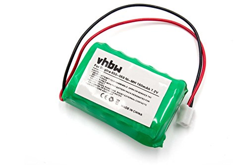 vhbw NiMH Akku 160mAh (7.2V) für Hunde-Trainer Dogtra FT-100, SD-400, SD-400s