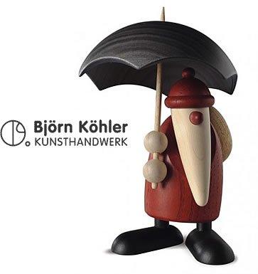 bjorn-kohler-statuetta-a-forma-di-babbo-natale-con-ombrello
