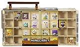 Caso figura Collector Mattel Minecraft Mini | Desierto Diseño temático celebra 32 Minecraft Minifiguras