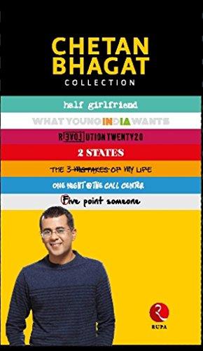 Chetan Bhagat 5 Books Set