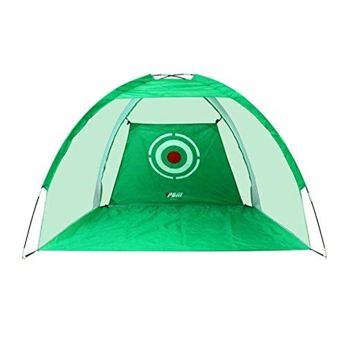 Schlagnetze Golfübungsnetz, treibendes Netzinnenübungsnetzspiel-Trainer-Berufsgolf, das Netz-tragbares Golfnetz antreibt (Color : Green, Size : 200 * 140cm/78.7 * 55.1inch)
