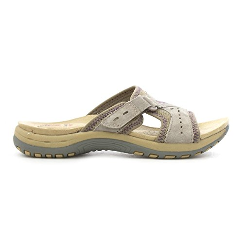 Earth Spirit Womens Grey Sporty Mule Gris