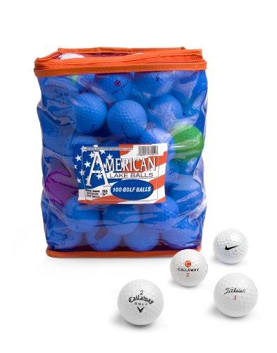 Second Chance Pack 100 balles American Lake et sac de rangement en PVC