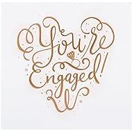 "Hallmark Engagement Card ""Congratulations"" - Medium"