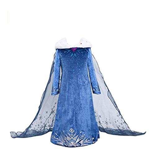 Lee little Angel Mädchen Aisha Prinzessin Cosplay Kleider (120, Q191) (Mädchen Little Angel Kostüm)