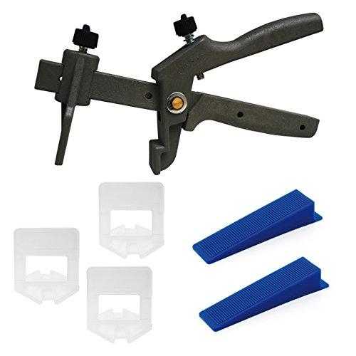 Preisvergleich Produktbild Lantelme 5312 Beginner Set Fliesenverlegehilfe für 3mm Fugenbreite und Fliesenhöhe von 3-15mm