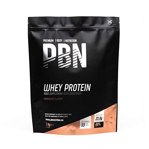 PBN Whey Protein Powder 1kg Chocolate