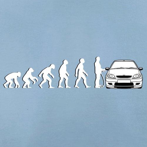 Evolution of Man - Saxo Fahrer - Herren T-Shirt - 13 Farben Himmelblau