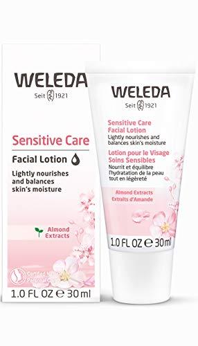 WELEDA Mandel Wohltuende Gesichtscreme, Naturkosmetik Feuchtigkeitscreme zur Pflege trockener, empfindlicher und sensibler Haut im Gesicht und am Hals für einen gesunden Teint (1 x 30 ml) -