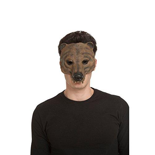 viving Kostüme viving costumes204694Bär Schaumstoff Maske (One Size) (Kostüm Maske Bär)