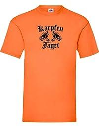 Shirtinstyle Camiseta Carpa Caza Pesca Pesca Hobby Pescadores de Carpa Kultstyle