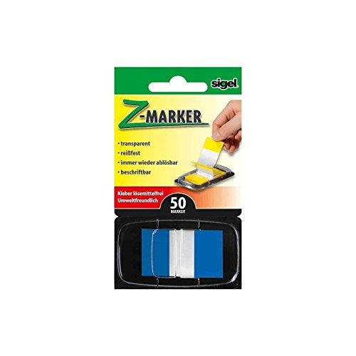 sigel-indice-riposizionabile-z-marker-pellicola-color-tip-blu