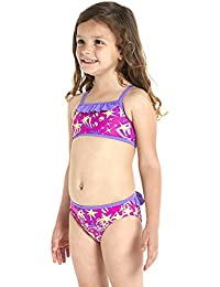 Speedo Girls' Essential 2 Piece Swimsuit