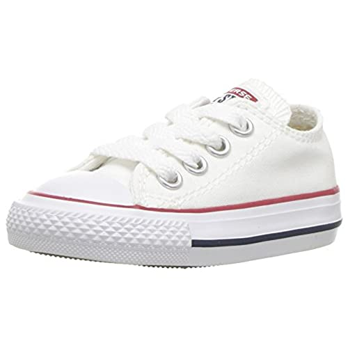 Chuck Taylor Ct Ox, Unisex Adults Low-Top Sneakers, White (White 100), 7.5 UK (41 EU) Converse