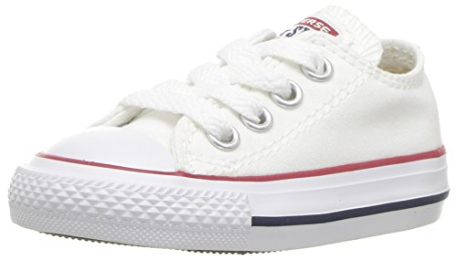 Converse All Star OX 7J237 - Zapatillas de tela para Niños, Blanco,...