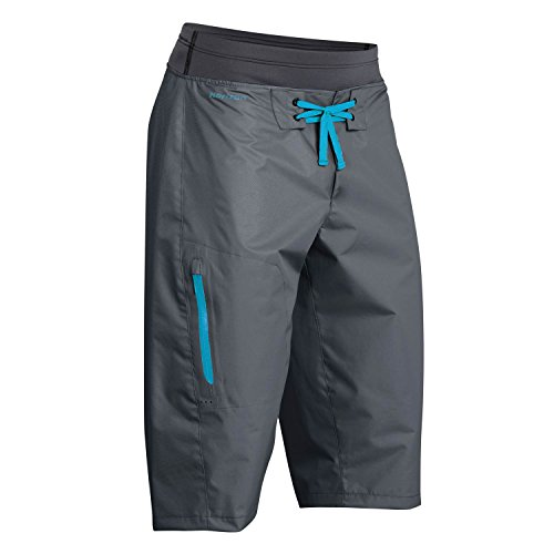 Palm Horizon Canoe/Kayak Shorts Jet Grey AW700 Sizes- - Large