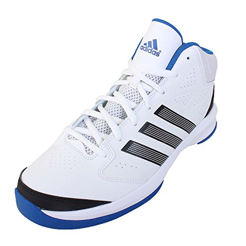adidas  Isolation, Chaussures de Basketball homme - runwht/black