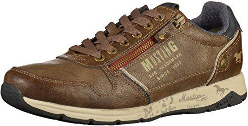 Mustang Herren Sneaker Braun, Schuhgröße:EUR 44