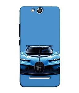 Snapdilla Designer Back Case Cover for Micromax Canvas Juice 3 Q392 (Auto Vechile Drive Asphalt Race Power Wallpaper)